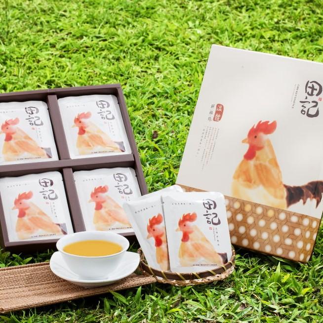 【鮮綠農產】聯名【田記】溫體鮮雞精禮盒(20入/盒)(免運)