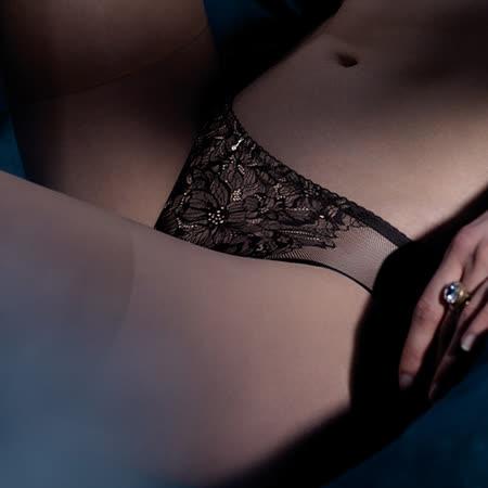 【黛安芬】ESSENCE艾聖思魔術胸罩M-EL平口內褲(深夜星空黑)