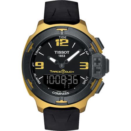 TISSOT T-RACE 環法自行車賽特別版觸控錶-黑/45mm T0814209705707