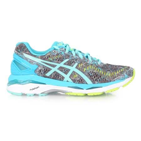 (女) ASICS GEL-KAYANO 23 慢跑鞋 - 路跑 亞瑟士 灰湖水藍