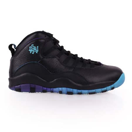 (男) NIKE AIR JORDAN 10 -限量復刻籃球鞋 - 喬丹 氣墊 黑藍