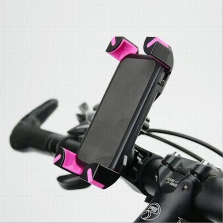 單車/機車專用 四爪 360度手機座 手機架 導航架《橫桿管狀專用》L21-BIKE