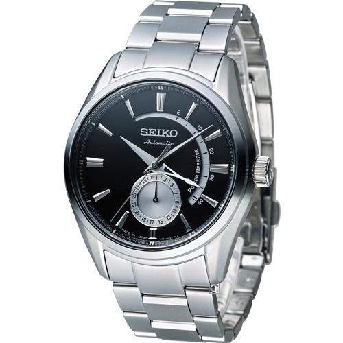 精工 SEIKO Presage 中央動力儲存顯示機械腕錶 4R57~00A0D
