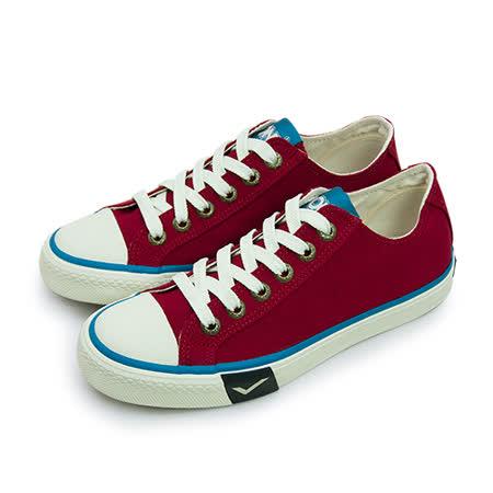 【女】PONY 經典復古帆布鞋 Shooter 2.0 紅米白 63U1SH63RD