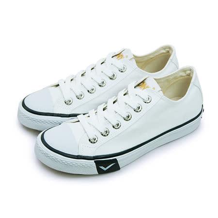 【女】PONY 經典復古帆布鞋 Shooter 2.0 白黑 63U1SH63RW