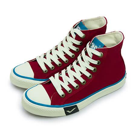 【女】PONY 經典復古帆布鞋 Shooter 2.0 紅米白 63U1SH64RD