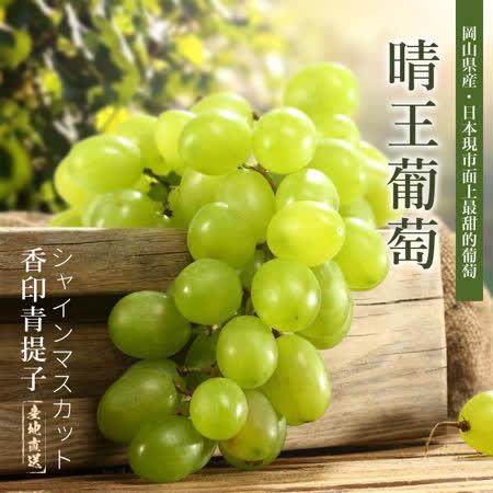 【台北濱江】岡山晴王葡萄1串(香印青提子,650g-750g±5%/串)