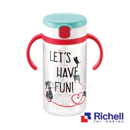 Richell利其爾貓物語水杯320ML