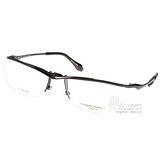 KATHARINE HAMNETT光學眼鏡  日本鈦金屬系列眉框(黑) #KH9134 C04