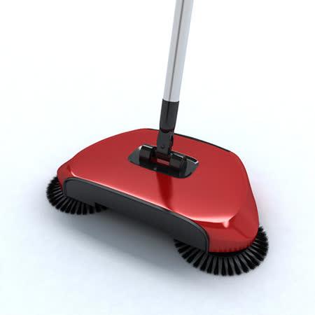 YUWA手推式掃地機-火焰紅 SB01