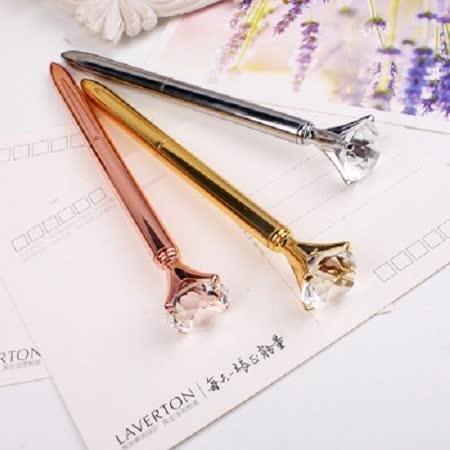 【PS Mall】金屬水晶寶石筆大鑽石筆 原子筆 (J1188)