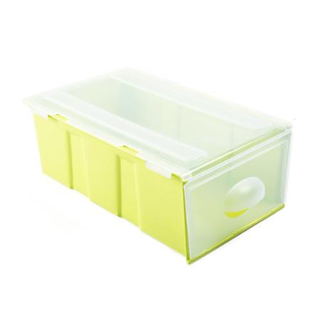 多功能可疊式側開收納箱3入組