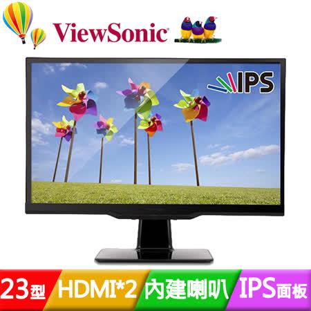 ViewSonic 優派 VX2363Smhl 23吋AH-IPS 2毫秒護眼液晶螢幕