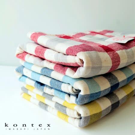 【クロワッサン科羅沙】日本今治~Kontex有機灰格浴巾 57*113cm