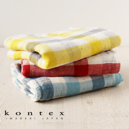 【クロワッサン科羅沙】日本今治~Kontex有機灰格毛巾 32*78cm