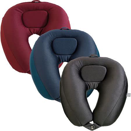 《GO TRAVEL》Dual扣式兩用微粒護頸枕