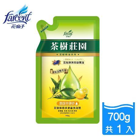 【茶樹莊園】茶樹超濃縮檸檬洗碗精-700ml補充包_JK2181YXF