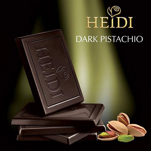 ~Heidi赫蒂~開心果黑巧克力80g