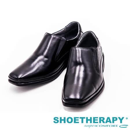 SAPATOTERAPIA 巴西有機直套式皮鞋男鞋-黑
