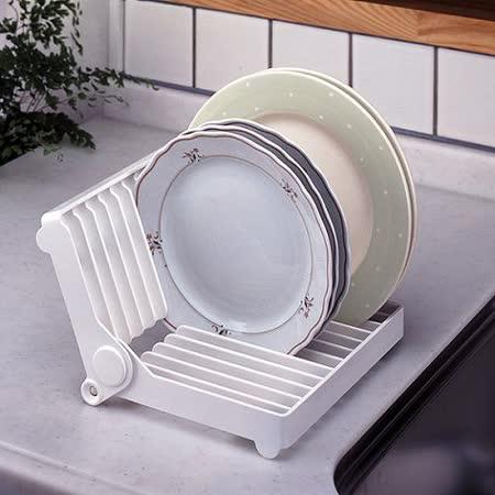【特惠組】日本LEC 餐盤收納架 2入裝