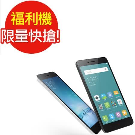 福利品- 八核手機 Xiaomi 遠 百 線上 dm紅米 Note 2 黑(4G)_七成新B