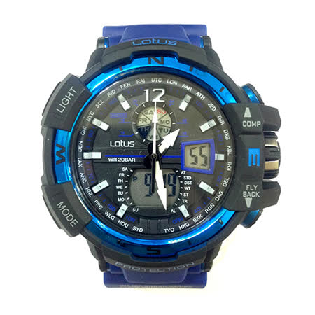 LOTUS 海上霸主GPW-1000系列時尚腕錶-56mm/防水/禮物/G-SHOCK/現貨/LS-1038-05