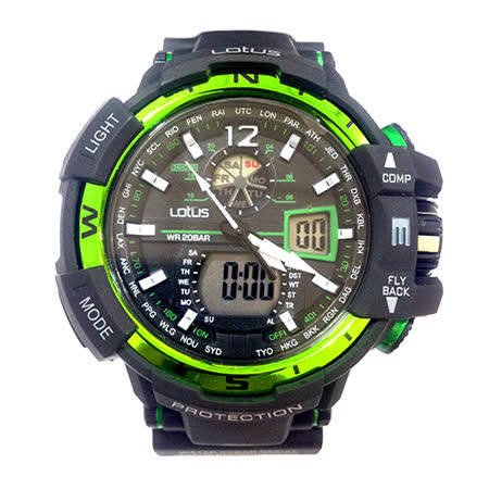 LOTUS 海上霸主GPW-1000系列時尚腕錶-56mm/防水/禮物/G-SHOCK/現貨/LS-1038-06