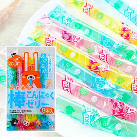日本 超可愛動物果凍棒168g