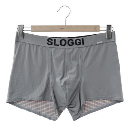 sloggi Men-極尚系列極細纖維平口內褲 M-XL(灰)