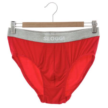 sloggi Men-極尚系列 Bamboo竹纖維合身三角內褲 M-XL(紅)