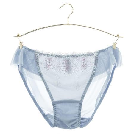 蕾黛絲-奢華真水-低腰內褲 M-EL(晶鑽白)