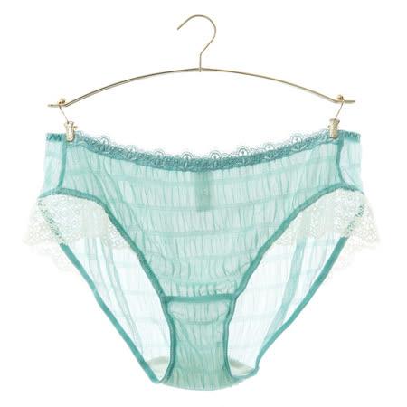 蕾黛絲-輕色愛戀 輕真水 M-L平口內褲(湖水綠)