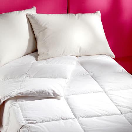 【法式寢飾花季】純品良織-頂級輕暖羽絨枕被組(30%羽絨枕+70%羽絨被)