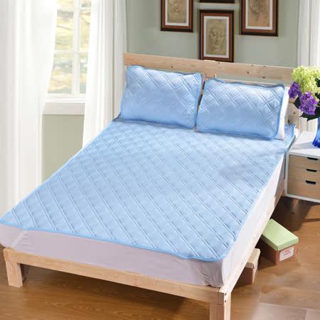 (寢心)外銷日本 3D網層涼感舒眠床墊組 QMAX3D-雙人組墊