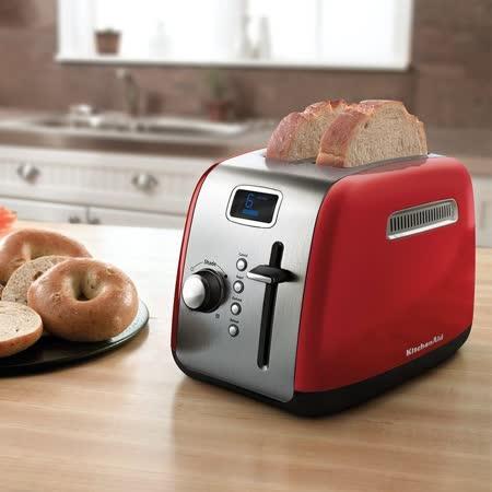 【部落客推薦】gohappy線上購物【KitchenAid】 2片二槽下壓式烤麵包機 KMT222ER (紅)去哪買大 愛 買