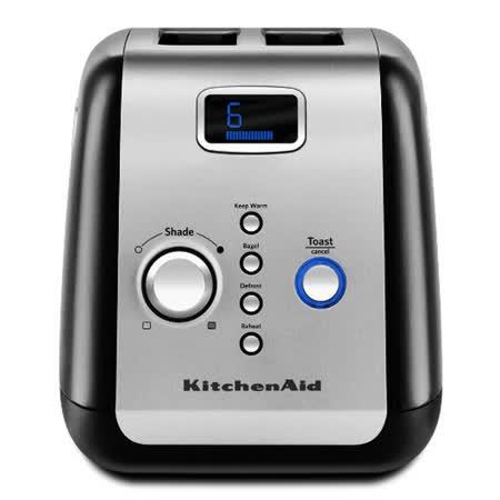 【勸敗】gohappy快樂購【KitchenAid 】烤麵包機2片按鍵式KMT223OB (黑色)去哪買愛 買 美食 街