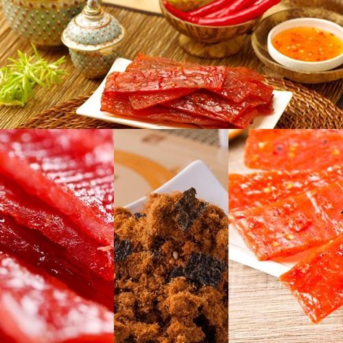 喜福田 風味豬肉乾 組 60盒、90g盒,四入組