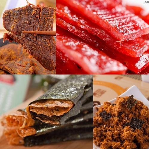 喜福田 風味肉乾綜合 組 55g盒、70g盒、90g盒,四入組
