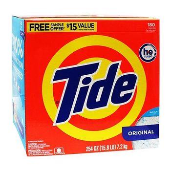 美國進口 Tide 洗衣粉(滾筒洗衣機適用) 254oz
