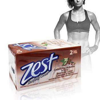 美國原裝進口 Zest 可可脂+乳油木果香皂 3.2oz-2入/180g