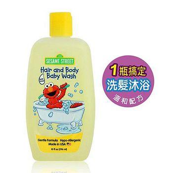 Sesame Street 嬰幼兒洗髮沐浴乳 10oz/296ml