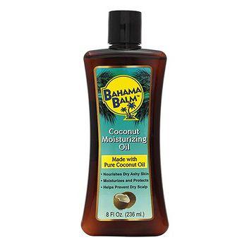美國進口BAHAMA 椰子保濕護膚油-8oz 8oz