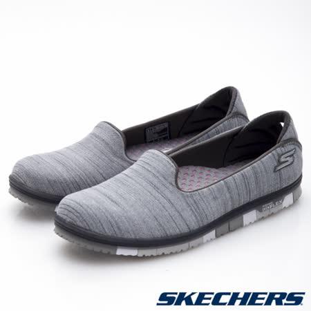 SKECHERS (女) 健走系列 GO Mini Flex - 14009GRY