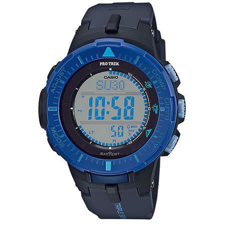 CASIO 卡西歐 PROTREK 時尚風格戶外活動登山錶/47mm/PRG-300-2