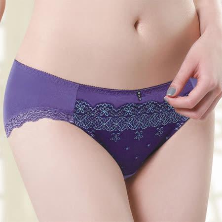 【莎薇】魔力推推心機魔力扣M-LL中低腰三角褲(紫水晶)