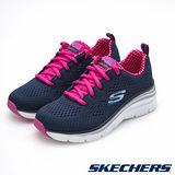 SKECHERS (女) 運動系列 Fashion Fit - 12704NVHP