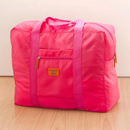 AOU 旅行配件多功能萬用包 輕量旅行袋 (玫紅) 66-002