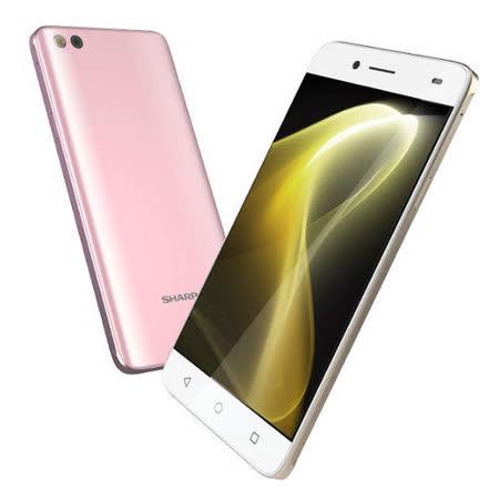 SHARP AQUOS M1 3G/32G 雙卡智慧手機(白色)★送USB充電鑰匙扣★