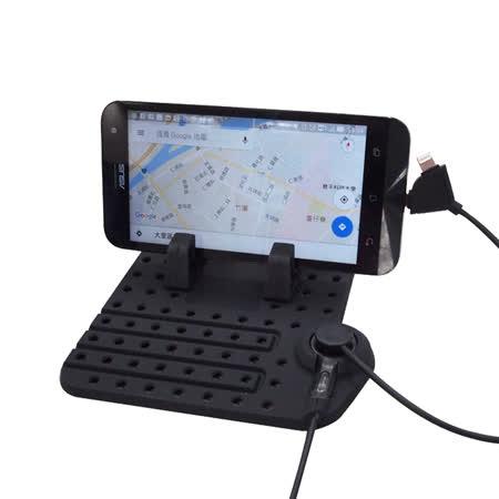 多功能手機充電架 (汽車︱收納︱止滑︱手機架)