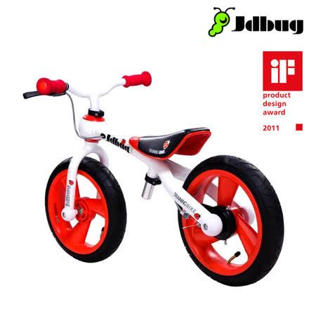 Jdbug 兒童滑步車TC09GS (紅/白色)_城市綠洲 (兒童學步車、兒童單車、腳踏車)